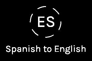 Spanish to English translation_white